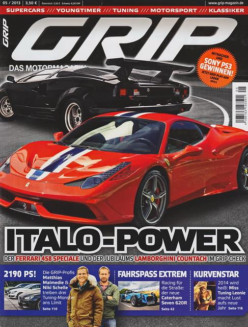 GRIP - Das Motormagazin 5/2013
