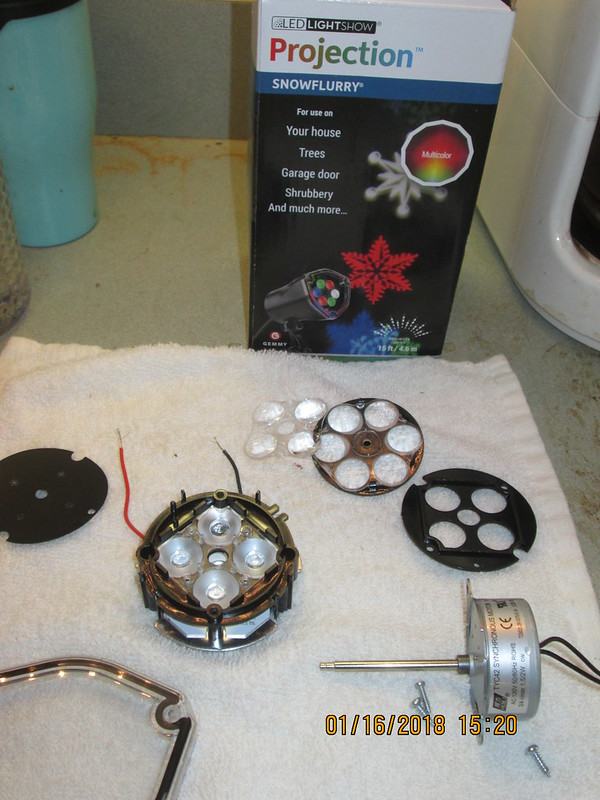 12 Volt Led Lights From Holiday Projector Bike Forums