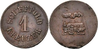 Scheffold 1 Kreuzer token