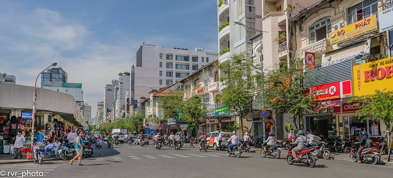 Cho Ben Tran Market, Saigón, Vietnam