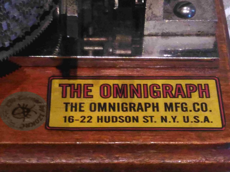 The Omingraph_15discs - write label