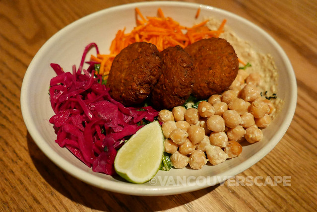 Yam Falafel Bowl