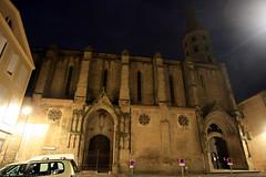 FR10 1085 Le Collégiale de Saint-Michel. Castelnaudary, Aude, Languedoc