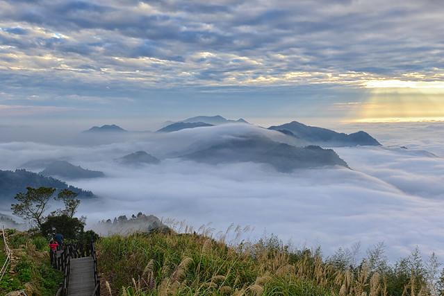 Sea of clouds at Xi Din隙頂雲海