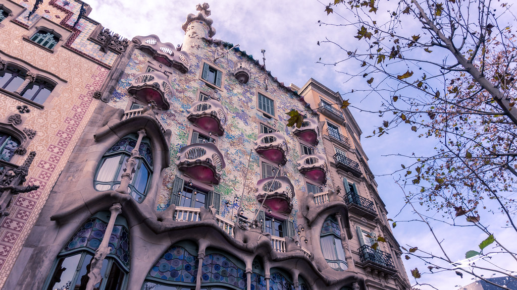 Dragon house, Casa Batlló