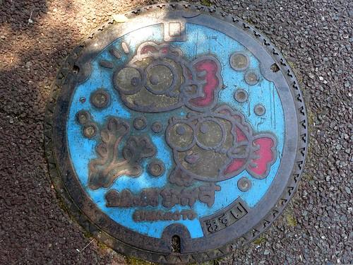 Nagasu Kumamoto, manhole cover (熊本県長洲町のマンホール)