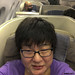 Yours Truly on board Asiana 203, Los Angeles by InSapphoWeTrust
