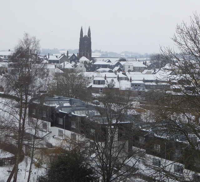 totnes in snow 2