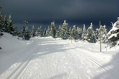 Solidní lyžařské podmínky, ale velký mráz