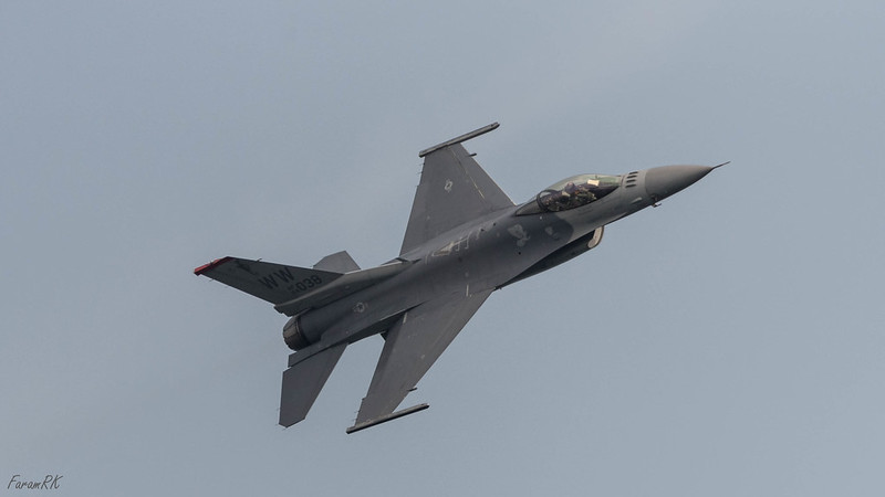 USAF F-16C, from Misawa AFB, Japan