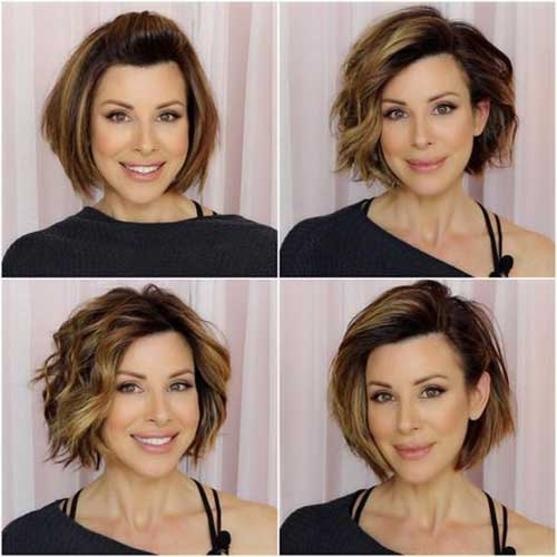 Bob Hairstyles For Older Ladies For 2018