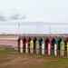 Huts. Beach Huts.