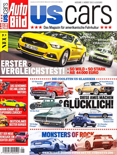 Auto Bild US Cars 1/2015