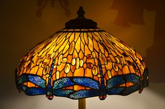 Tiffany Lamp At The Queens Museum