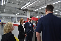 Reps. Zawistowski and Davis tour Phoenix Manufacturing
