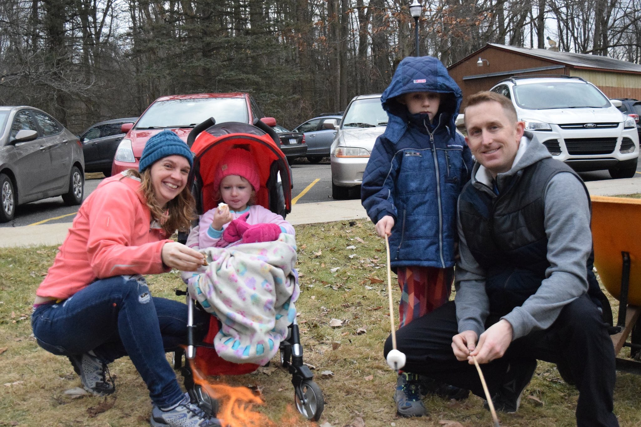 Harris Nature Center's Winter Wonderland Event Continued Without Snow