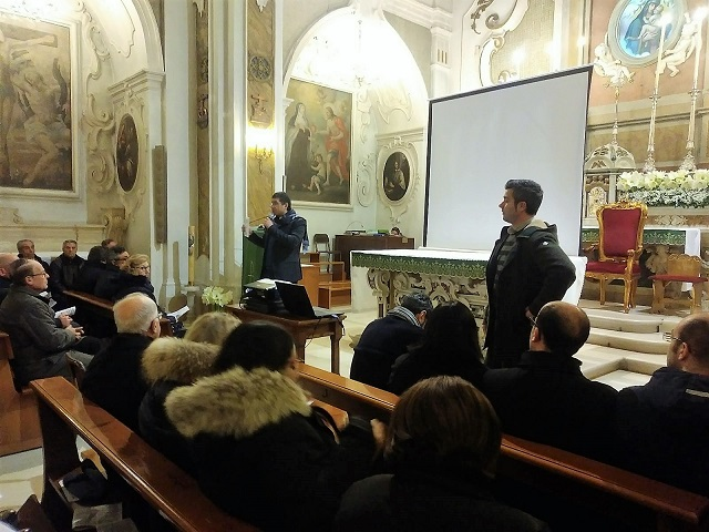 Noicattaro. restauro chiesa intero
