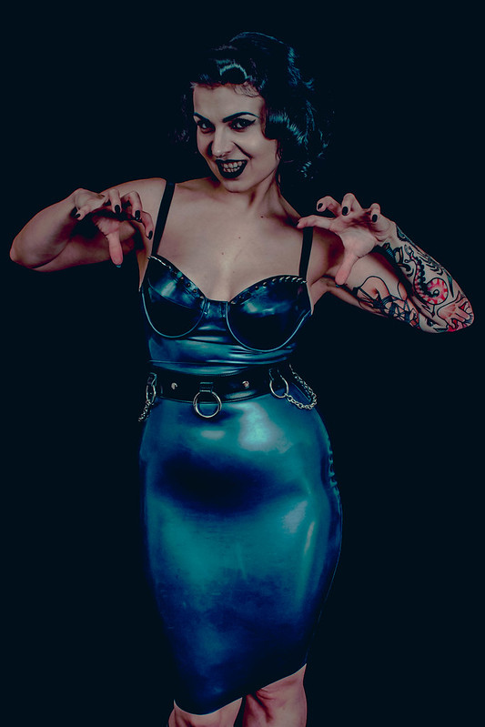 The Lady of Latex [Blue]-01