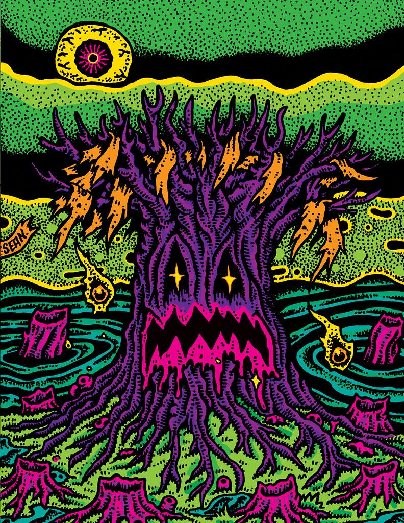 Sean Aaberg - Dungeon Degenerates - The Black Tree