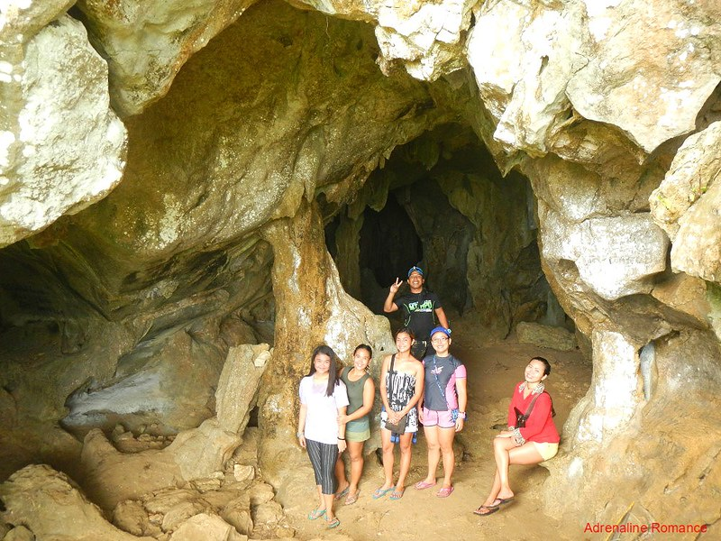 Bakwitan Cave entrance