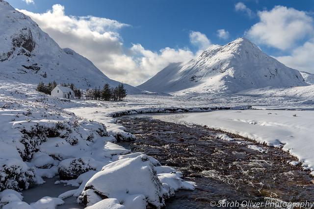 A perfect winter scene
