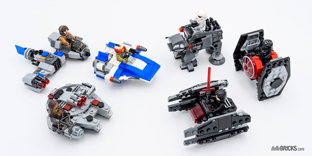 LEGO Star Wars Microfighters 75196 12