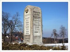 Wegweiser & Grenzsteine (direction signs & boundary stones)