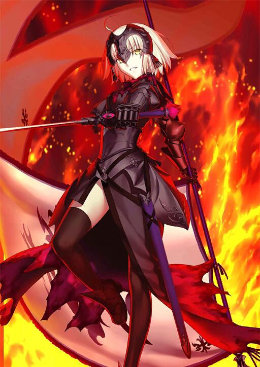 這股憎恨,可不是簡單就能平息的。figma《Fate/Grand Order》Avenger/聖女貞德[Alter](アヴェンジャー/ジャンヌ・ダルク〔オルタ〕)