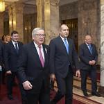 Bulgarian President Rumen Radev - EC President Jean-Claude Juncker meeting in Sofia