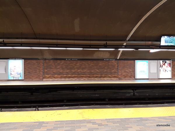 Mont Royal subway station