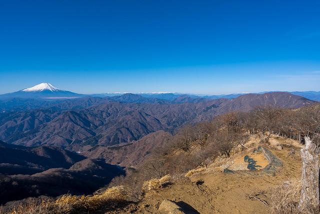 熊笹ノ峰へ戻る