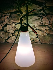 Solar powered Mayday lamp