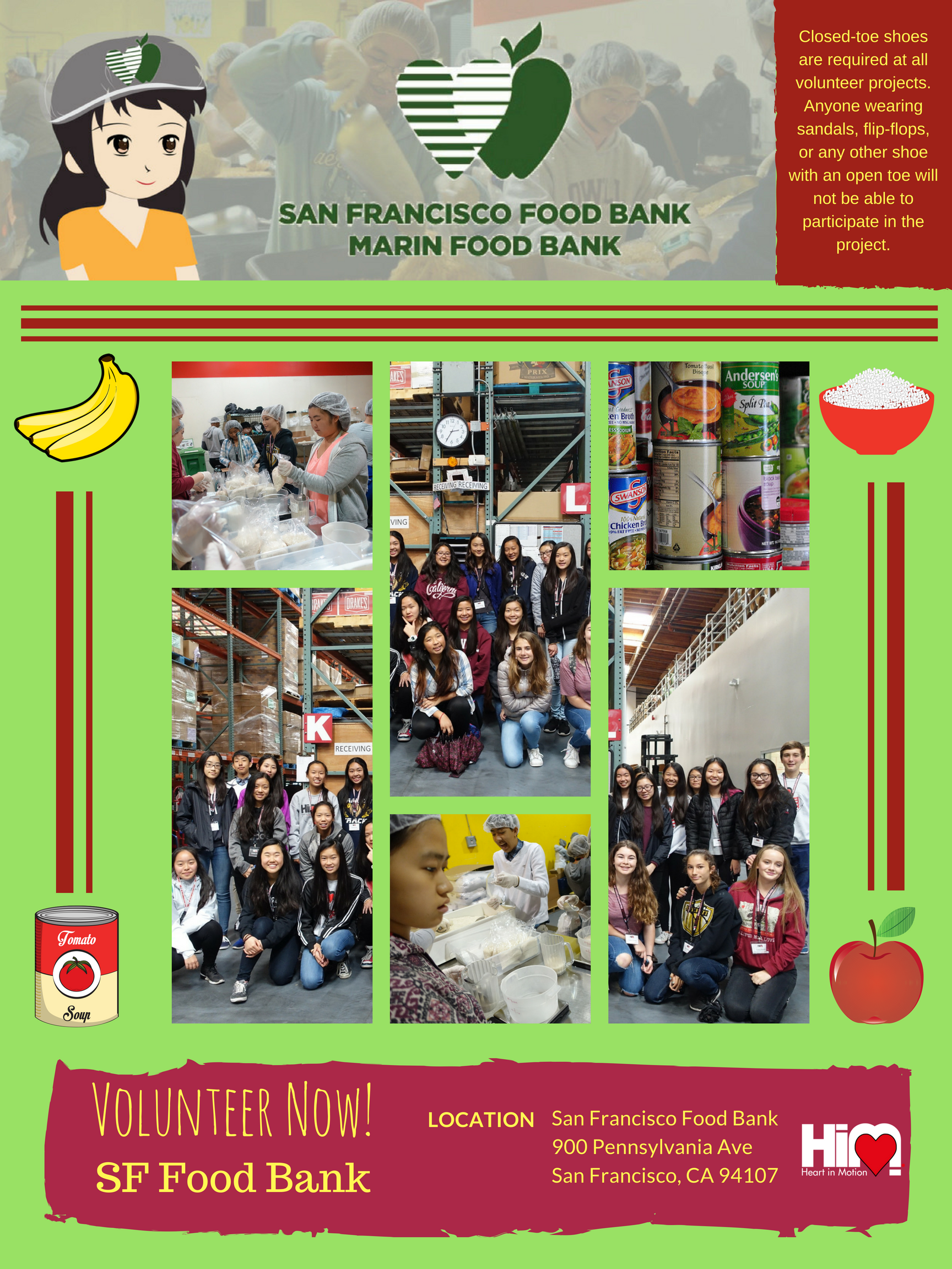 Sf Food Bank Heart In Motion