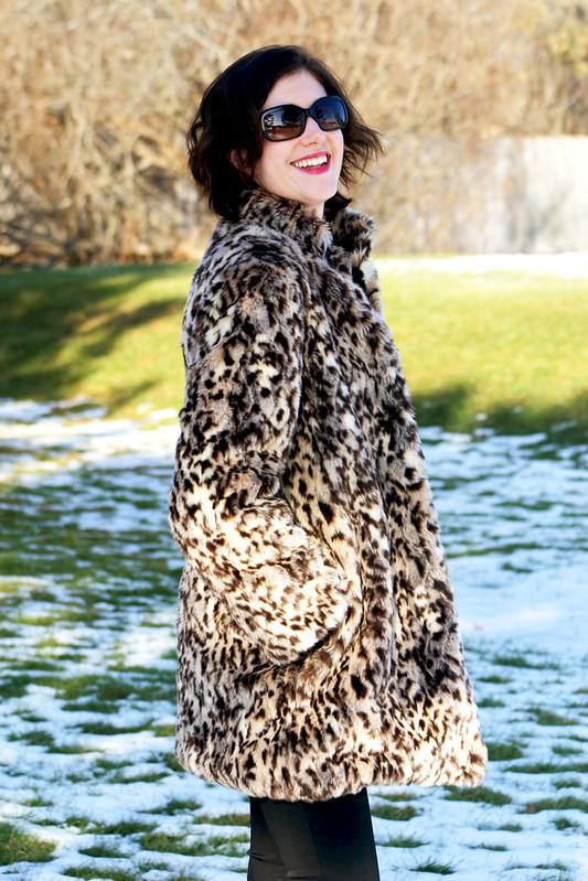 Leopard Fur Coat – McCall's 7257