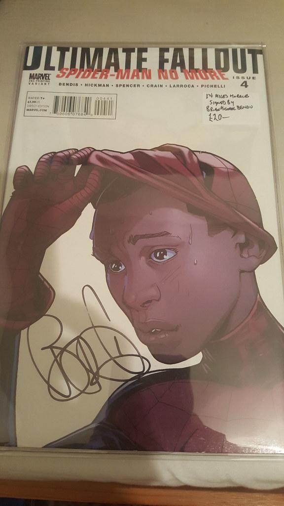 BMB autograph comic