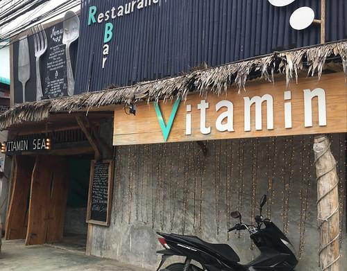 サムイ島 フアタノンの隠れ家フレンチ/タイシーフードレストラン Vitamin Sea