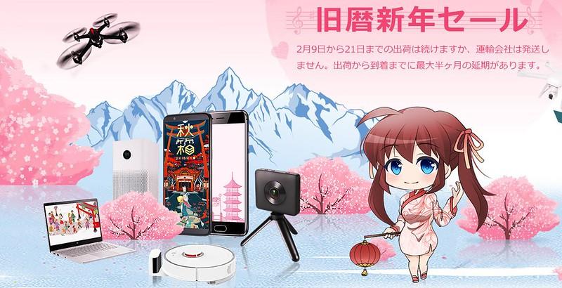 GearBest Sale 旧歴新年セール (1)