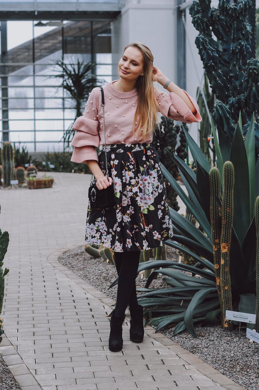 European fashion blogger