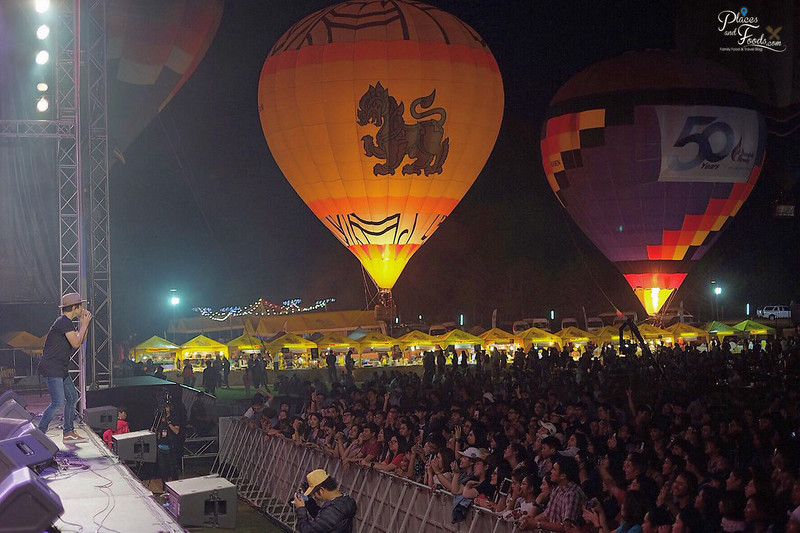 singha park hot air balloon 2018