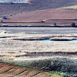 Panorámicas de las lagunas de La Guardia desde los cerros de los Serranos