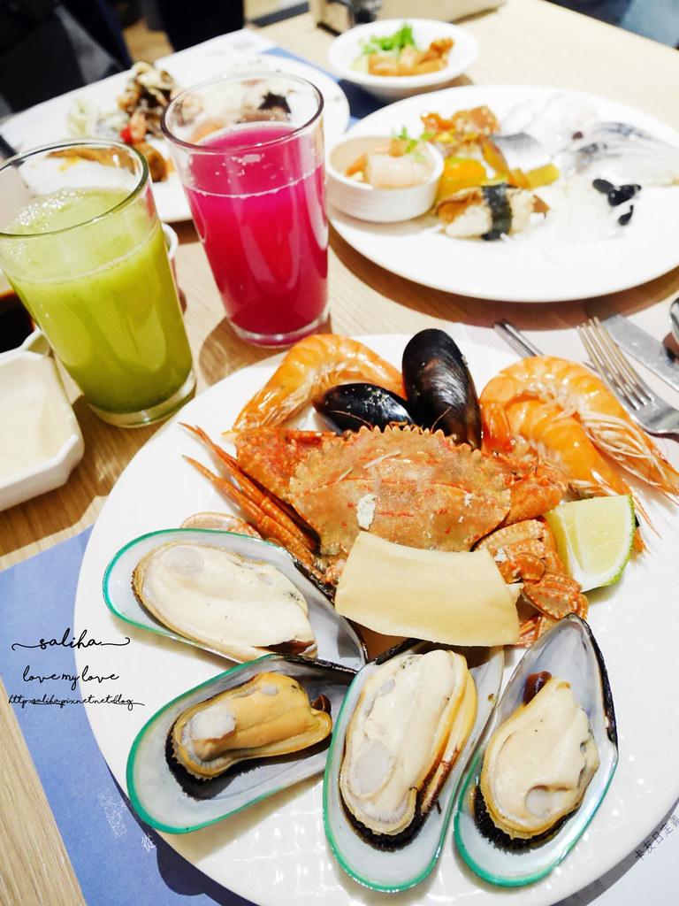 台北大安漢來海港餐廳-敦化店海鮮有哪些
