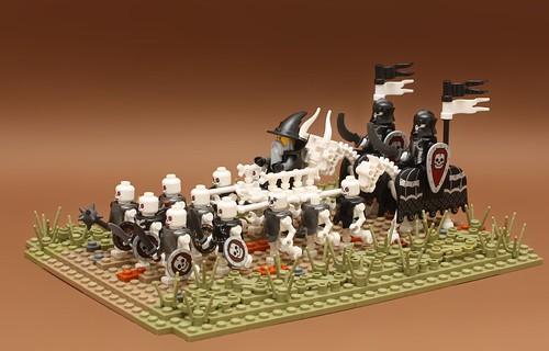 The Necromancer's army
