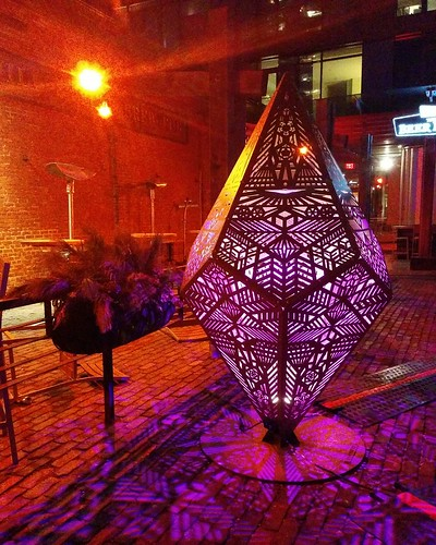 The Glow-Dodecahedron (3) #toronto #distillerydistrict #tolightfest #glowdodecahedron #martintaylor #latergram