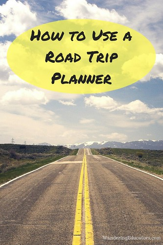 How to Use a Road Trip Planner