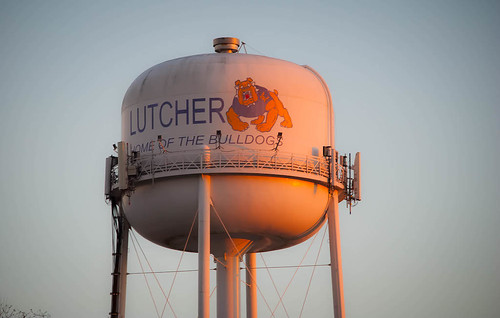 Lutcher Water Tower