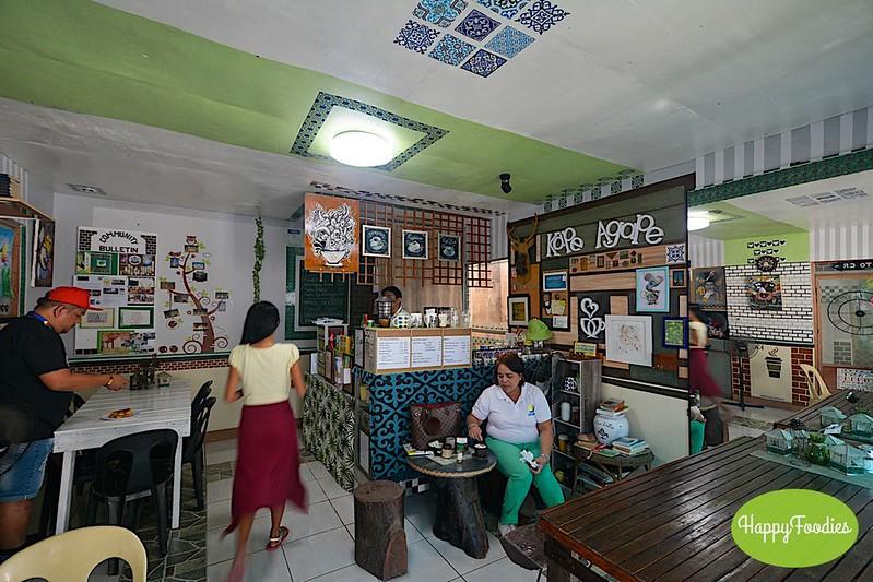 Inside Kape Agape