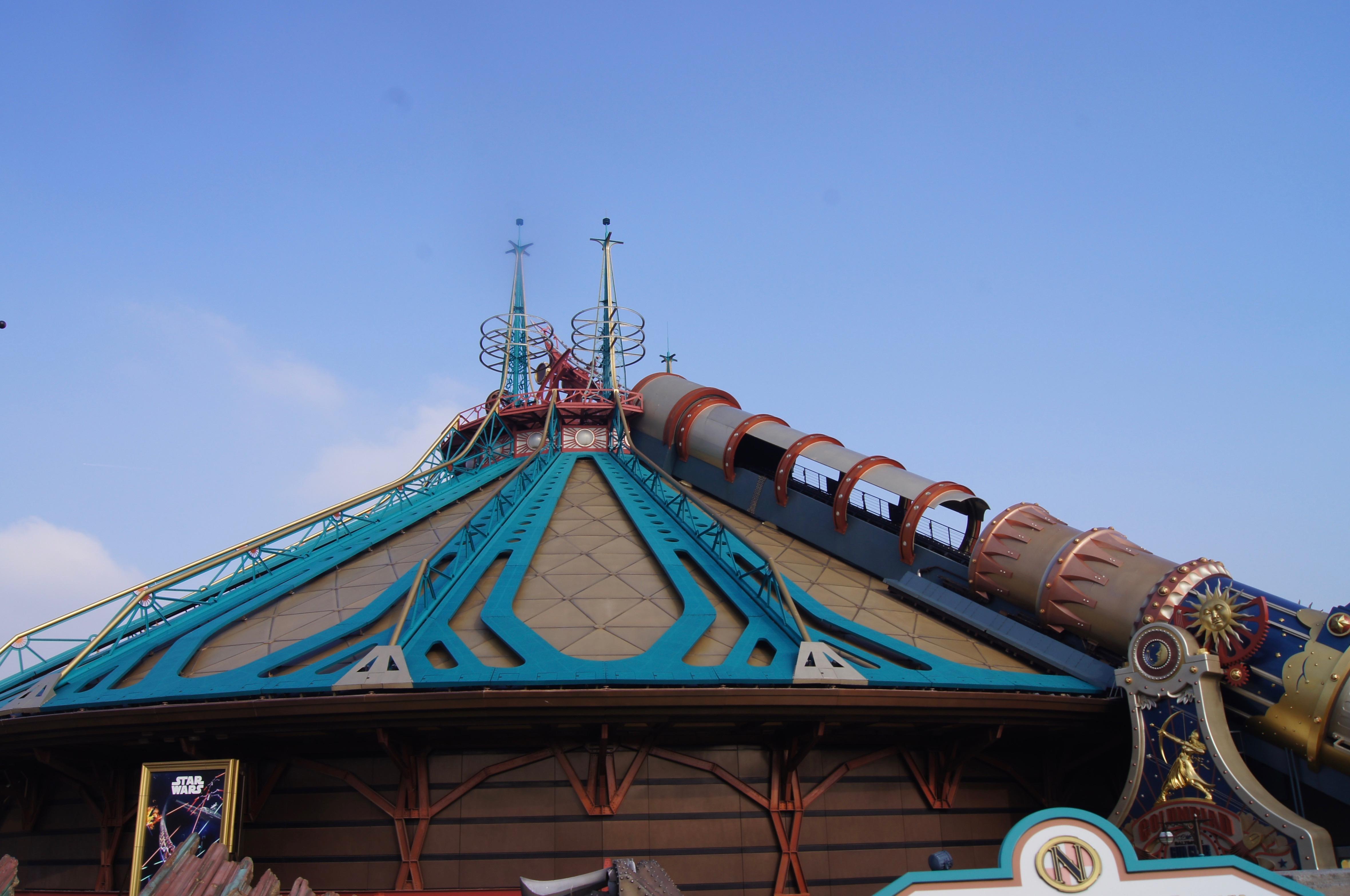 Disneyland Paris Trip - space mountain