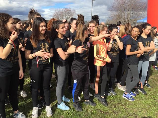 Deuxième édition de « la Lycéenne Maif Run »: plus de 5 000 participantes de 15 à 18 ans dans toute la France dont 1 000 à Lyon