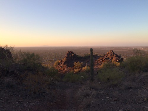 Picacho Peak morning hike overview