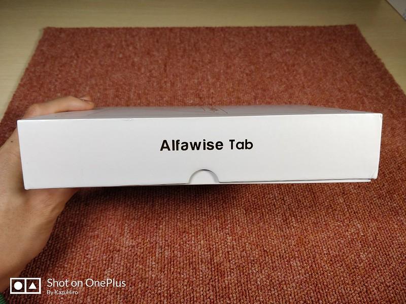 Alfawise Tab 開封レビュー (3)